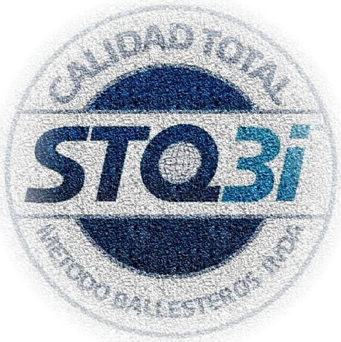 Logo STQ3i con textura
